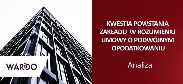 Umowa o unikaniu podwójnego opodatkowania Polska – Czechy