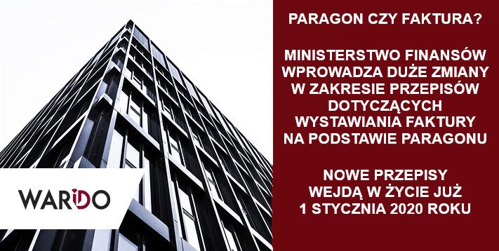 Faktura na podstawie paragonu – zmiany w przepisach