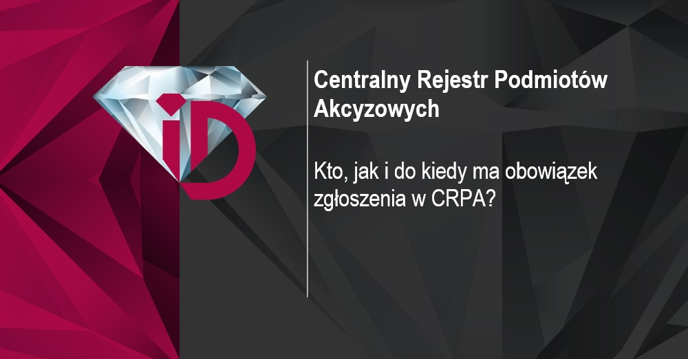 centralny rejestr podmiotów akcyzowych